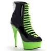 DELIGHT-600-33 Black/Neon Green